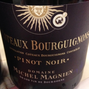Bourgogne - Coteaux Bourguignons - Domaine Michel Magnien - Pinot Noir - 2014