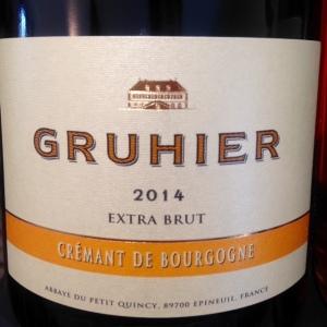 Bourgogne - Domaine de l'Abbaye du Petit Quincy - Dominique Gruhier - Crémant de Bourgogne - Extra Brut - 2014