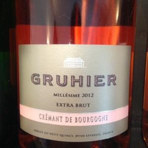 Bourgogne - Domaine de l'Abbaye du Petit Quincy - Dominique Gruhier - Crémant de Bourgogne - Rosé - Extra Brut - 2012