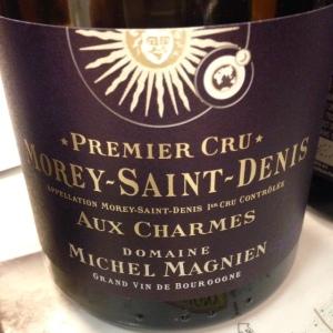 Bourgogne - Morey-Saint-Denis Premier Cru - Domaine Michel Magnien - Aux Charmes - 2014