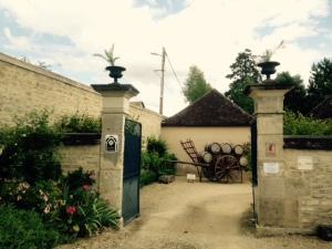 Domaine de l'Abbaye du Petit Quincy - Dominique Gruhier - Entrée