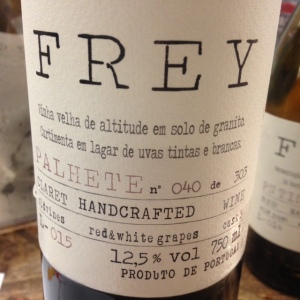 Portugal - Douro - Frey - Palhete - 2015