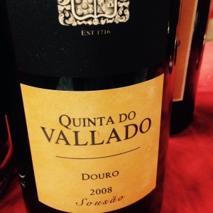 Portugal - Douro - Quinta do Vallado - Sousão - 2008