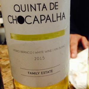 Portugal - Lisbonne - Quinta de Chocapalha - 2015 - Blanco