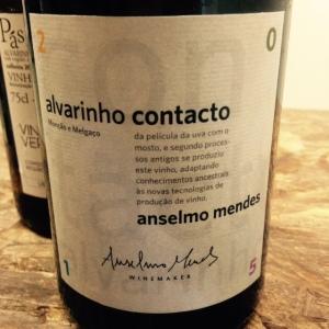 Portugal - Vinho Verde - Anselmo Mendès - Alvarinho contacto - 2015