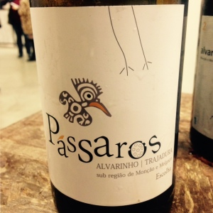 Portugal - Vinho Verde - Anselmo Mendès - Passaros -Alvarinho - Trajadura - 2015