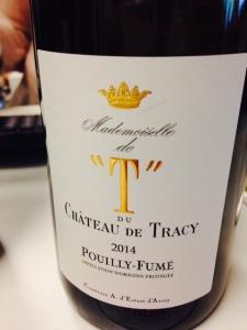 Vallée de la Loire - Pouilly-fumé - Château de Tracy - Cuvée Mademoiselle de T - 2014