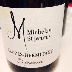 Vallée du Rhône - Crozes-Hermitage - Michelas St Jemms - Signature - 2014