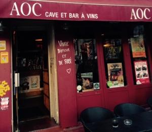 AOC - Bar à vins et restaurant - Avignon - façade