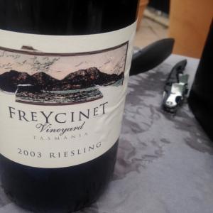 Australie - Tasmanie - Freycinet Vineyard - Riesling - 2003