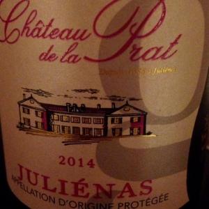 Beaujolais - Juliénas - Château de la Prat - 2014