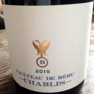 Bourgogne - Chablis - Château de Béru - 2015