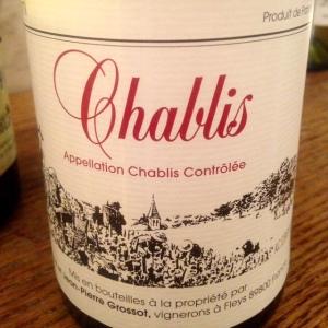 Bourgogne - Chablis - Domaine Corinne et Jean-Pierre Grossot - 2013