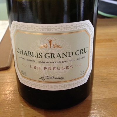 Bourgogne - Chablis Grand Cru - La Chablisienne - Les Preuses - 2013
