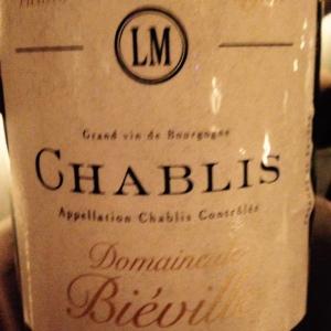 Bourgogne - Chablis - Louis Moreau - Domaine de Biéville - Vieilles vignes - 2014