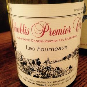 Bourgogne - Chablis Premier Cru - Domaine Corine et Jean-Pierre Grossot - Les Fourneaux - 2014