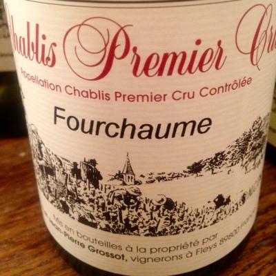 Bourgogne - Chablis Premier Cru - Domaine Corinne et Jean-Pierre Grossot -Fourchaumes - 2014
