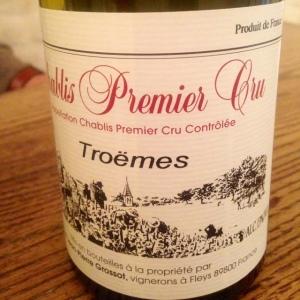 Bourgogne - Chablis Premier Cru - Domaine Corinne et Jean-Pierre Grossot - Troëmes - 2014