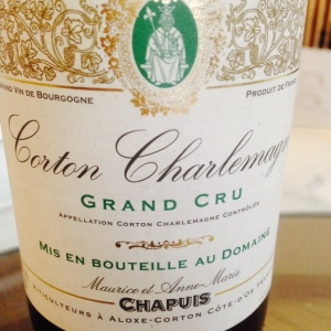 Bourgogne - Corton Charlemagne Grand Cru - Maurice et Anne-Marie Chapuis - 2008