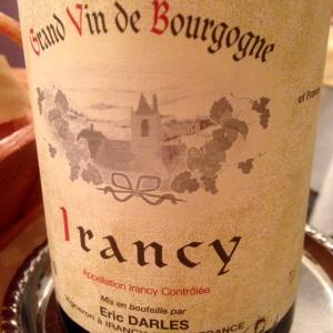 Bourgogne - Irancy - Eric Darles - 2011