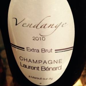 Champagne - Laurent Bénard - Extra Brut - Vendange - 2010