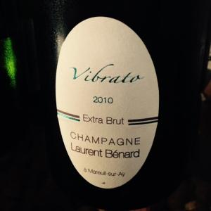 Champagne - Laurent Bénard - Extra Brut - Vibrato - 2010