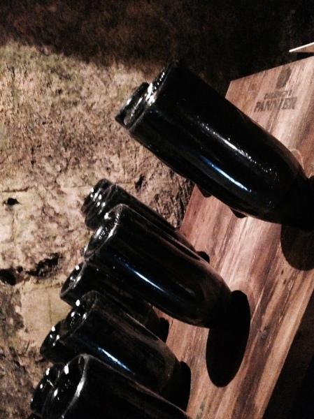 Champagne - Pannier - Table de remuage