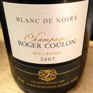 Champagne - Roger Coulon - Blanc de Noirs - 2007