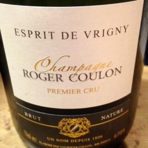 Champagne - Roger Coulon - Brut Nature - Esprit de Vrigny
