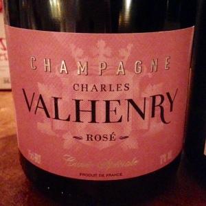 Champagne - Rosé - Charles Valhenry