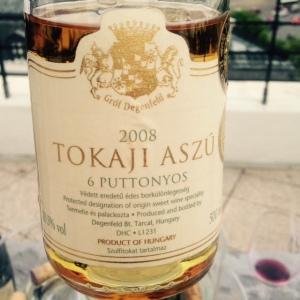 Hongrie - Tokaji Aszù - Grof Degenfeld Winery - 6 Puttonyos - 2008
