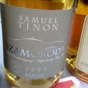 Hongrie - Tokaji - Samuel Tinon - Szamorodni (sec) - 2007