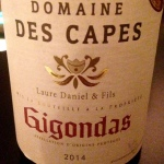 Vallée du Rhône - Gigondas - Domaine des Capes - Laure Daniel & Fils - 2014