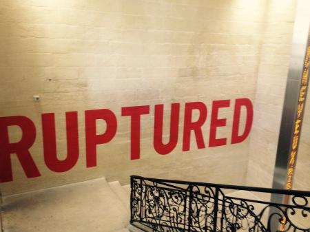 Avignon - Collection Lambert - Ruptured - Laurence Weiner