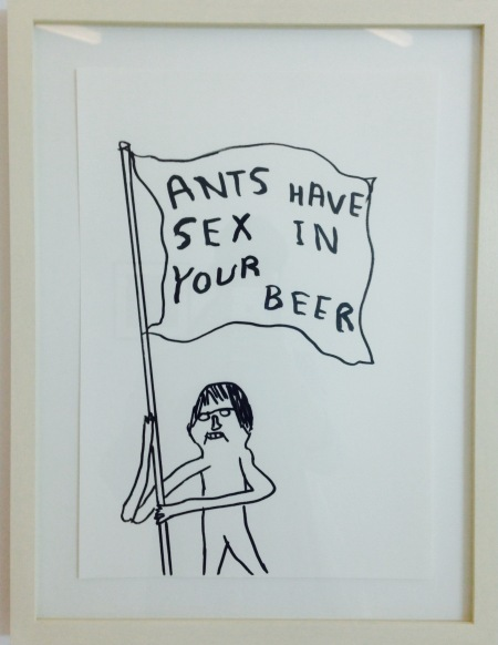 Ants Have Sex in Your Beer - David Shrigley