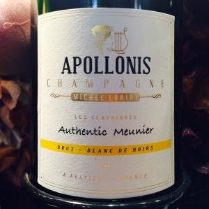 Champagne Michel Loriot - Brut - Blanc de Noirs - Authentic Meunier