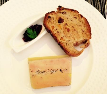 J'ai rarement mangé un foie gras aussi fin et aux arômes aussi subtils.