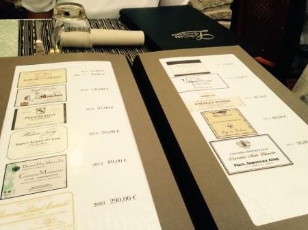 Epernay - La Grillade Gourmande - La Carte des vins 3