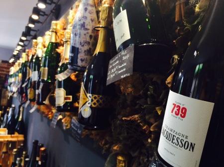 Une présentation des vins originale