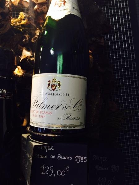 Champagne Palmer millésime 1985