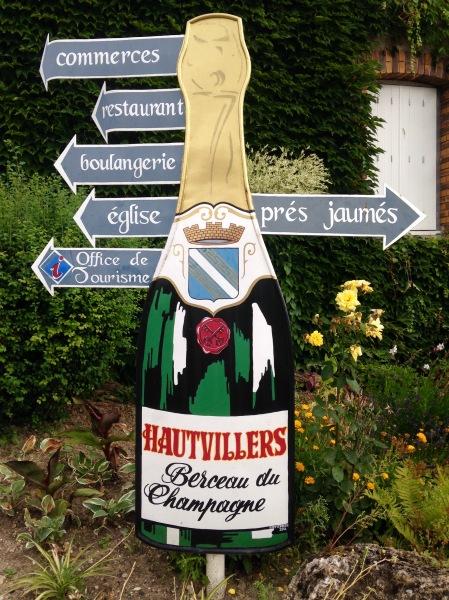 Hautvilliers - Berceau du champagne
