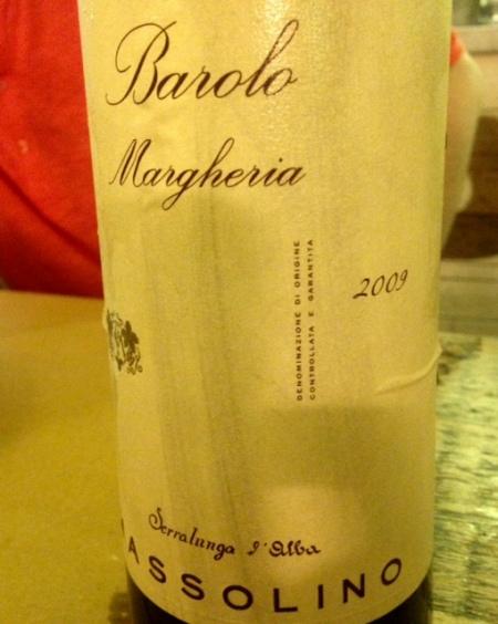 Italie - Piémont - Barolo - Massolino - Margheria - 2009
