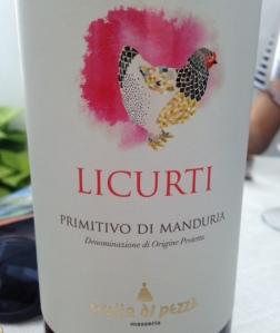 Italie - Pouilles - Manduria - Trullo di Pezza Licurii - Primitivo - 2014