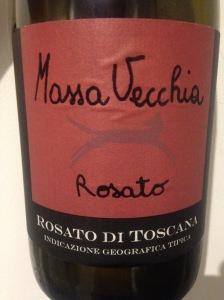 Italie - Toscanze - Rosato di Toscana - Massa Vecchia - 2012