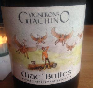 Savoie - Vin pétillant -Giachino Vignerons - Giac'Bulles