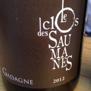 Vallée du Rhône - Côtes du Rhône Villages Gadagne - Le Clos des Saumanes - 2012