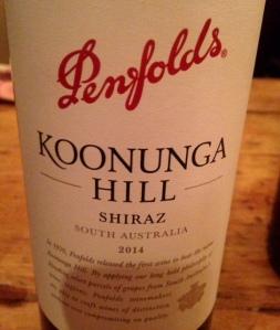 Australie - Australie du Sud - Penfolds - Koonunga Hill - Shiraz - 2014