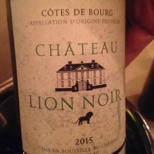Bordelais - Côtes de Bourg - Château Lion Noir - 2015