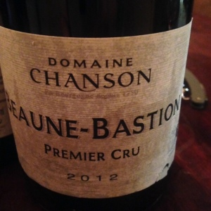 Bourgogne - Beaune-Bastion Premier Cru - Domaine Chanson - 2012
