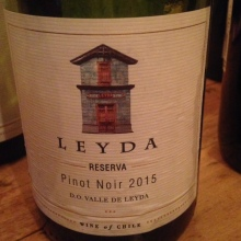 Chili - Vallée de Leyda - Leyda - Pinot Noir - Reserva - 2015